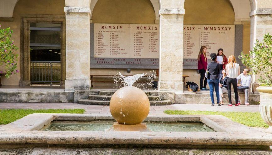 L'université de Montpellier propose un collège de droit. //©David Richard/Transit pour l'Université de Montpellier