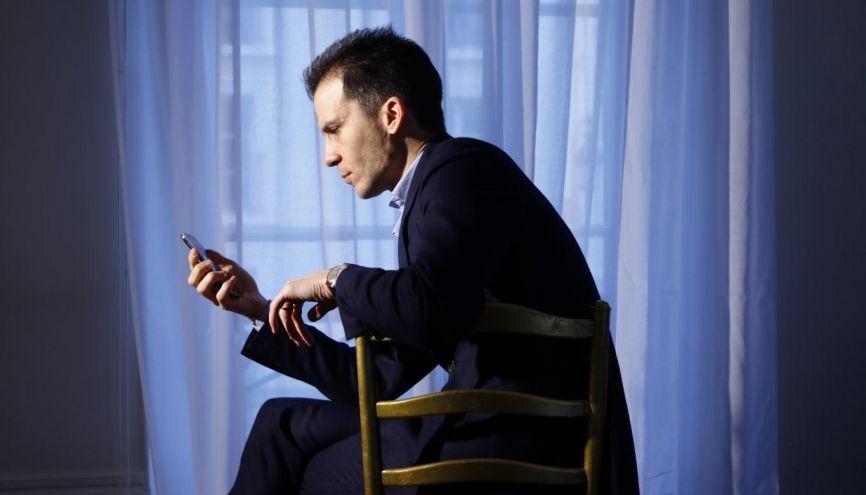 Gaspard Gantzer, conseiller en communication de François Hollande. //©Christophe Boulze pour l'Etudiant
