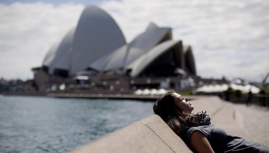 """Les échanges """"gratuits"""" avec l'Australie sont peu nombreux, et l'inscription universitaire constitue souvent le premier poste de dépenses. //©Michael Rathmayr/ plainpicture"""
