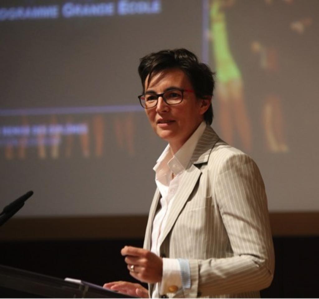 Nathalie Hector, directrice du PGE (programme grande école) d'emlyon. //©emlyon/Nathalie Hector