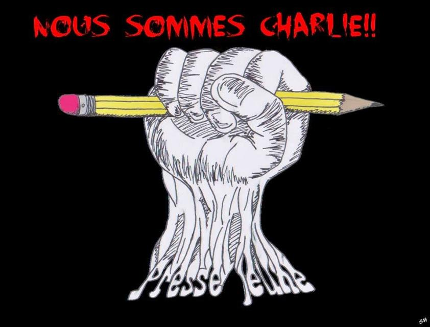 Nous sommes Charlie //©Inconnu