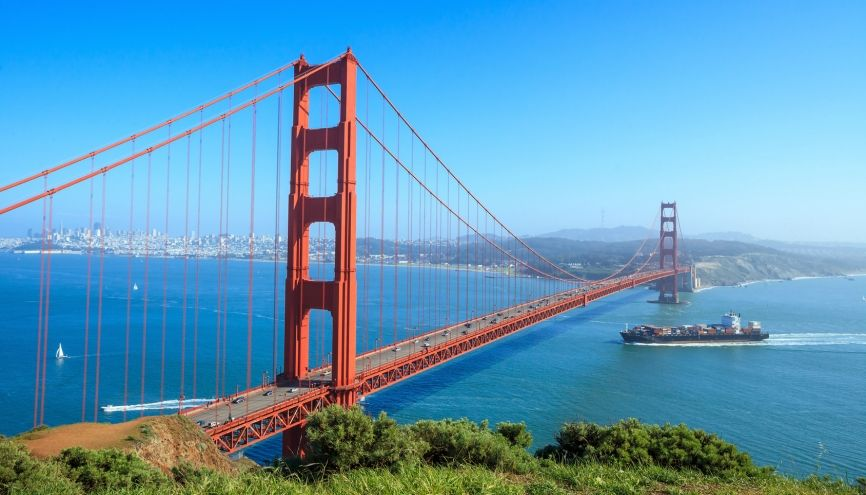 Le pont de San Francisco, aux États-Unis. //©Fotolia