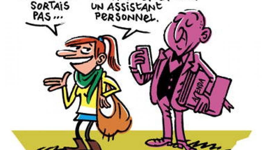 Le statut d'étudiant implique beaucoup d'organisation et de gestion du temps. //©Manu Boisteau
