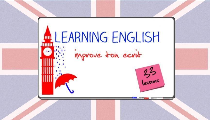 L'anglais facile : 33 cours pour progresser à l'écrit //©Juliette Lajoie