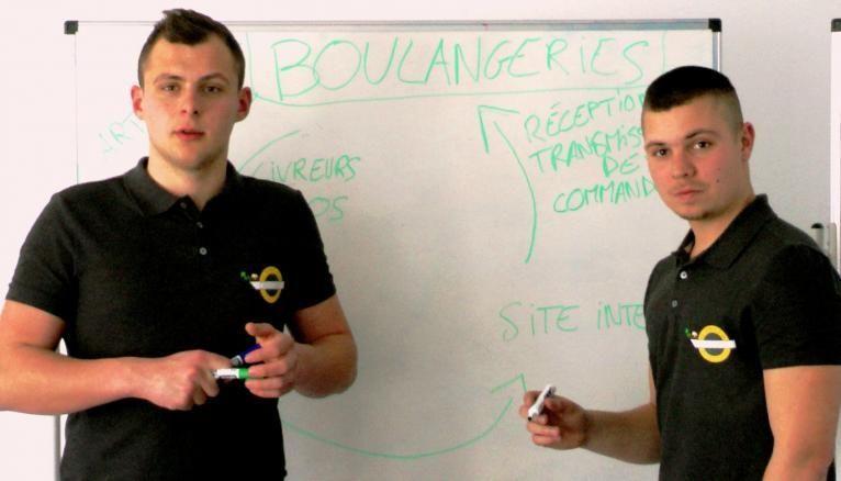 Étudiants à Dijon, Antonin et Paul lancent une campagne de financement participatif de 4.000 € pour financer leur site Internet.