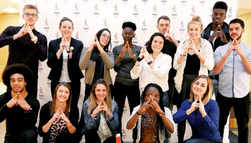#Génération 2024 : ce comité consultatif de 24 jeunes de 17 à 26 ans mobilise la jeunesse pour les JO de Paris en 2024. //©COJO Paris 2024