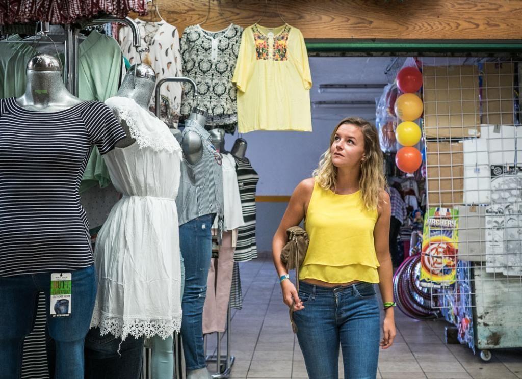 """Dans le cadre de sa deuxième année d'école de commerce, Charlotte a effectué un semestre à Santiago de Querétaro, à 200km au nord-ouest de Mexico.  //©Romain """"Ojabierto"""" Thieriot pour l'Etudiant"""
