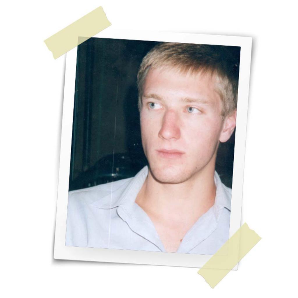 En 2001, Samuel Forey a 20 ans. Il ne sait pas encore qu'il se destine au métier de reporter de guerre. //©Photo fournie par le témoin