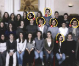 Les élèves de terminale S, année 2014-2015, du lycée Jacques-Cœur, à Bourges (18).