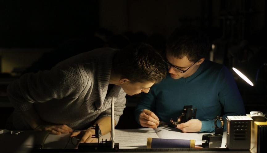 La classe prépa PCSI du lycée Chateaubriand à Rennes est à dominante physique-chimie. //©Cédric Martigny pour l'Etudiant