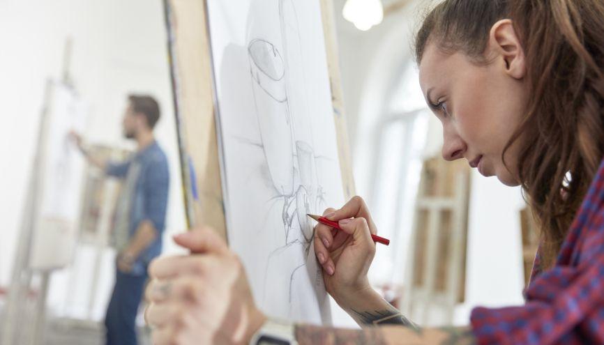 Prépas aux écoles d'art //©PlainPicture