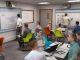Une salle de classe du futur imaginée par SMART et Grenoble École de management. //©SMART et Grenoble École de management