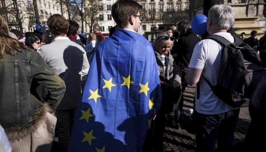 À l'aube des élections européennes, les jeunes s'engagent sur plusieurs listes. //©©Simon LAMBERT/HAYTHAM-REA