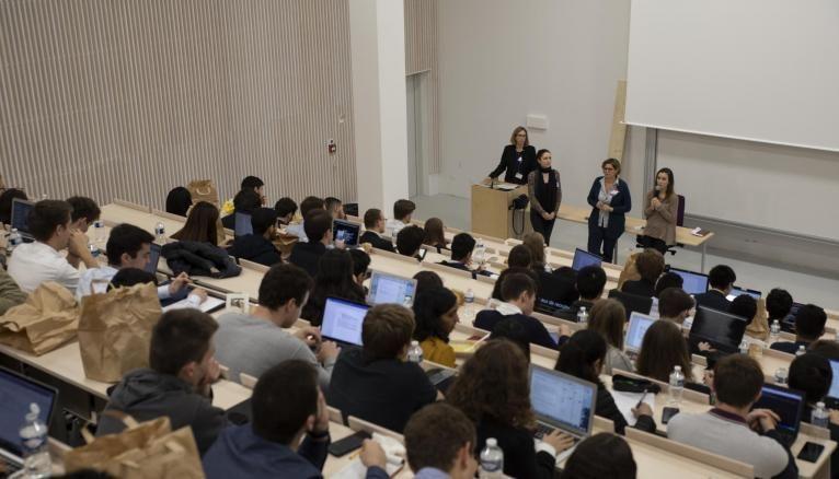 Les nouveaux locaux de Telecom Paris ont accueilli les premiers étudiants fin octobre.