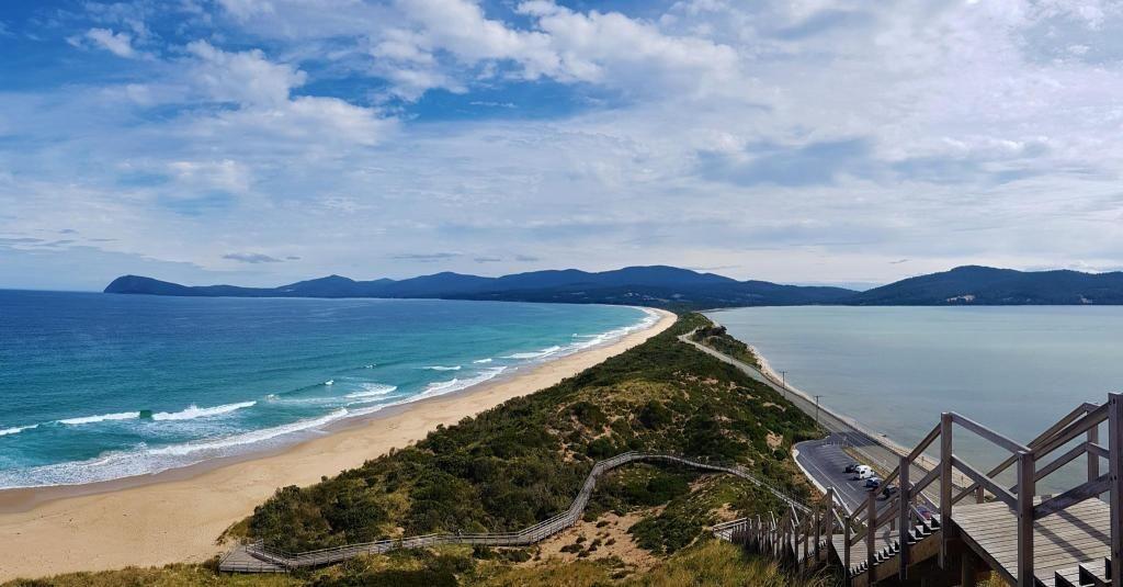 Un passage sur l'île de Tasmanie avant de reprendre le chemin de l'université. //©Photo fourni par le témoin