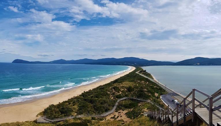 Un passage sur l'île de Tasmanie avant de reprendre le chemin de l'université.