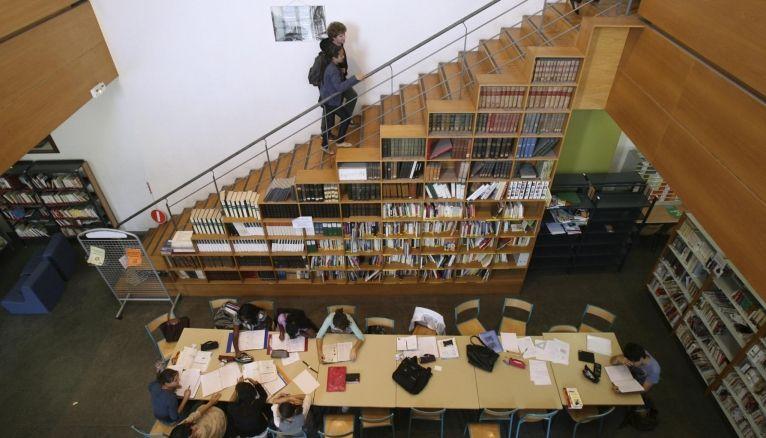 Classes prépas - bibliothèque lycée Thiers Marseille