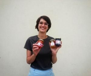 Colette Rapp, une jeune engagée contre le gaspillage alimentaire.