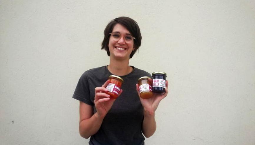 Colette Rapp, une jeune engagée contre le gaspillage alimentaire. //©Photo fournie par le témoin