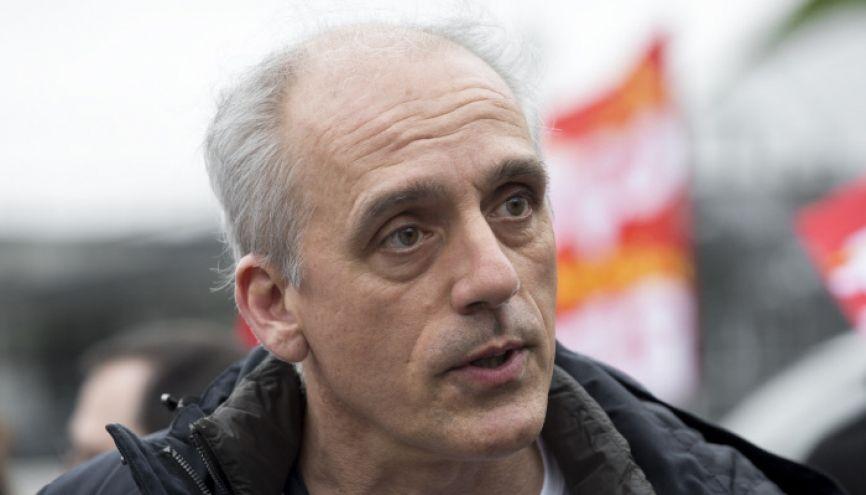 Philippe Poutou, candidat du NPA à l'élection présidentielle 2017. //©Romain Beurrier/REA