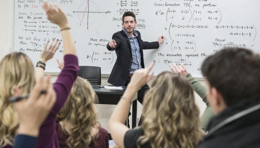 Et pour vous, c'est quoi, un bon prof ? //©plainpicture/Blend Images/Hill Street Studios