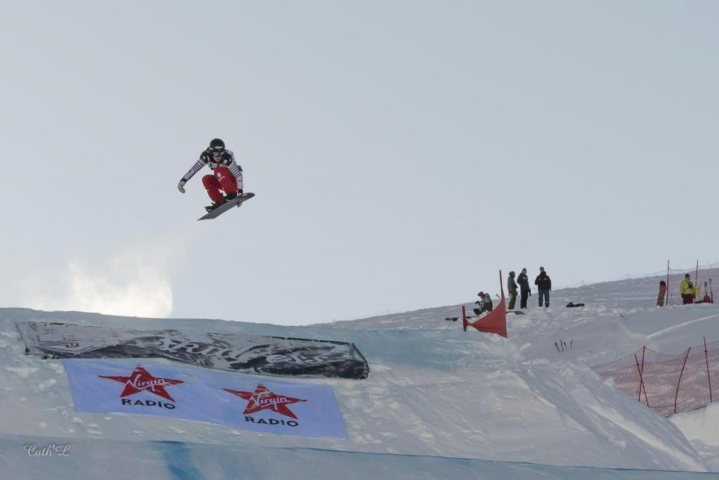 La snowboardeuse Julia Pereira de Sousa Mabileau est sélectionnée pour ses premiers JO à 16 ans. //©Catherine Lenoir