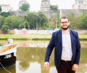 Émile, 20 ans, en L1 de géologie, à l'université d'Angers.