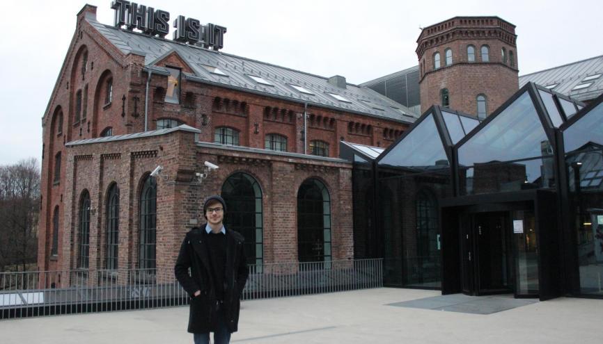 L'école Oslo Academy of the Arts est une ancienne usine de voile, qui a été réaménagée par des architectes  norvégiens. //©Delphine Dauvergne
