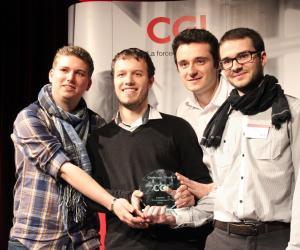 Mickaël, Thomas, William et Alexis ont remporté en mars 2015 le prix Challenges Citoyens de la CGI, dans la catégorie Environnement.