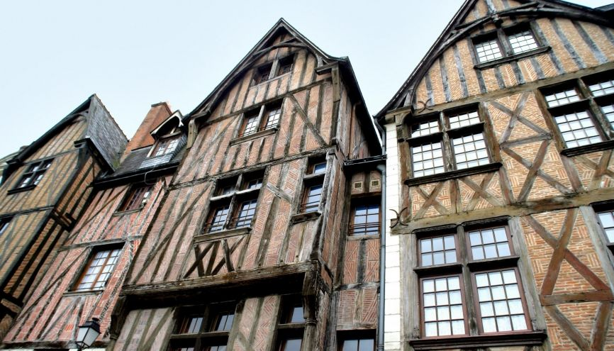 Ville de Tours (Indre et Loire) //©Phovoir