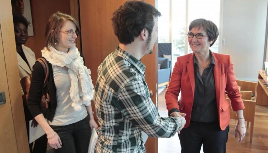 Valérie Fourneyron, ministre de la jeunesse //©l'Etudiant