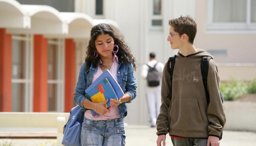 Le dispositif des parcours d'excellence s'adresse aux collégiens de 3e de l'éducation prioritaire //©Phovoir