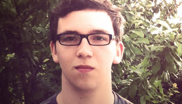 Nathan, 19 ans, en 1re année de l'IEP de Bordeaux.