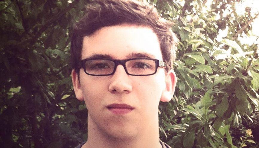 Nathan, 19 ans, en 1re année de l'IEP de Bordeaux. //©NL