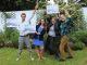 Jérémie, Lauren, Léa et Claire, lauréats du concours Jeunes reporters pour l'environnement 2017. //©Delphine Dauvergne