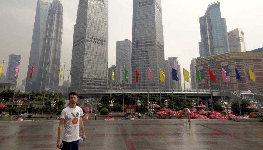 Comment Alexandre, étudiant à l'ESSCA, a effectué son stage en Chine //©Photo fournie par le témoin