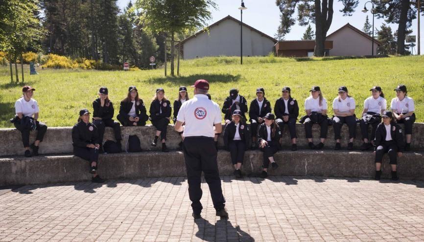 En juin 2019, près de 3.000 volontaires ont participé à la première session du SNU. //©Photo fournie par le témoin