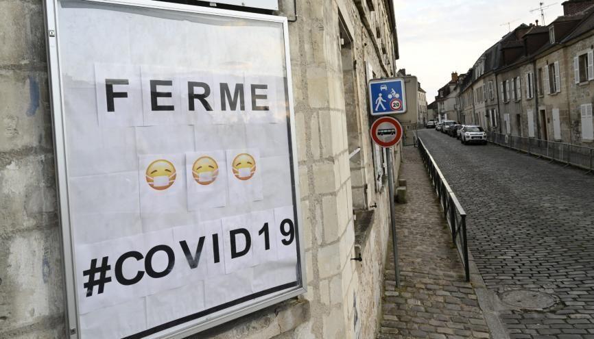 La fermeture d'établissements scolaires pour cause de coronavirus ne concerne pour l'instant que 5 départements. //©Nicolas Tavernier/REA