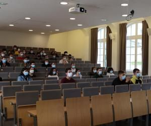 360 élèves de la première année du cycle ingénieur font leur rentrée à l'ISEP.