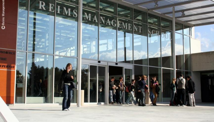 Parvis de Reims Management School //©Reims Management School