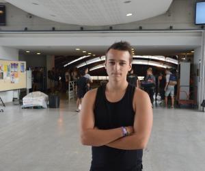 Clément a commencé le 31 août en STAPS à Montpellier