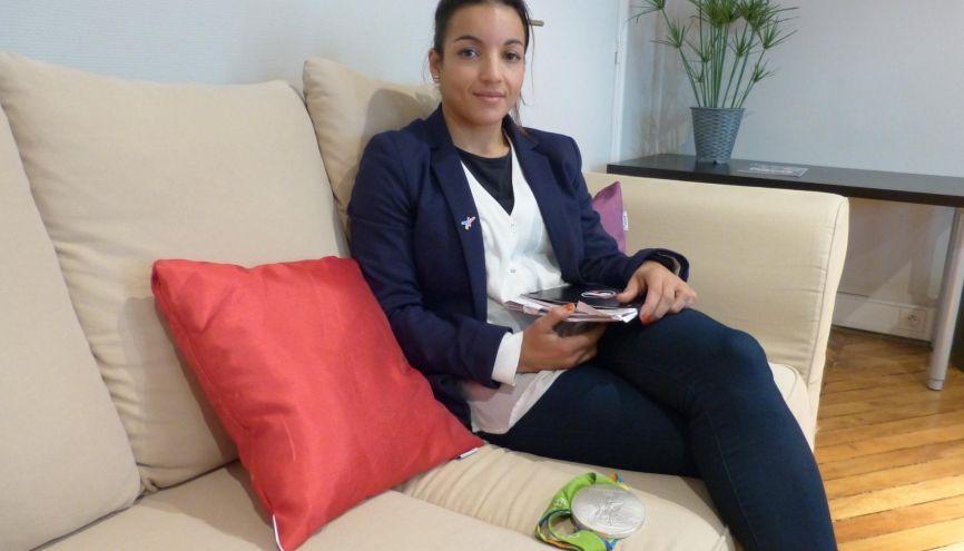 Vice-championne olympique et entrepreneuse : Sarah Ourahmoune cumule les réussites. //©Assia Hamdi