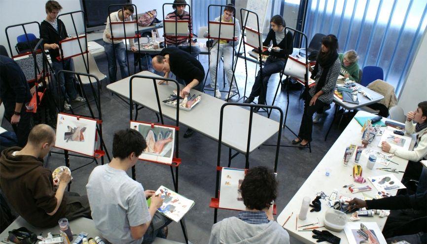 Les recruteurs apprécient des candidats qui savent dessiner. //©Strate College