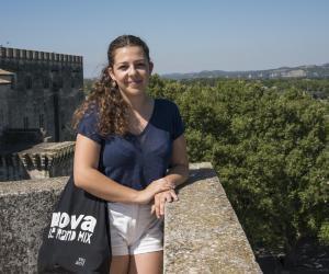 Lydia, 21 ans, en M1 stratégie du développement culturel, à l'université d'Avignon.