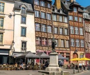 Rennes est l'une des villes les plus appréciées par les étudiants.
