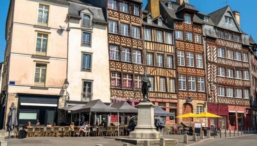 Rennes est l'une des villes les plus appréciées par les étudiants. //©Adobe Stock/Leonid Andronov