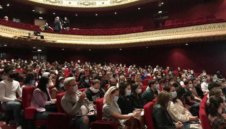 L'Opéra de Metz prête ses locaux à la fac de droit, éco et administration de l'université de Lorraine.