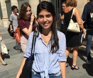 Le 14 septembre, Luciana entrera en première année de médecine à Paris-Descartes.