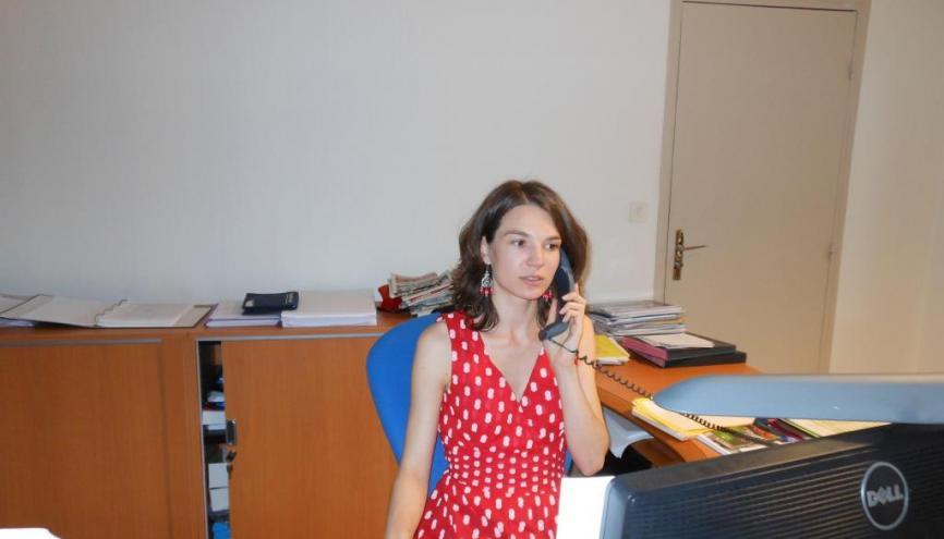 Stéphanie, assistante de direction. //©DR
