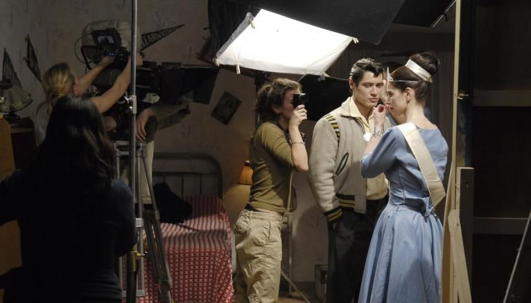 Et... action ! Les étudiants de la Fémis en plein tournage.